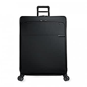 Briggs & Riley Baseline Extra Large Expandable Spinner, Black, One Size