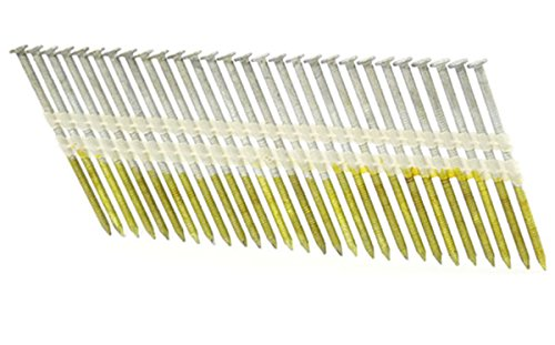 3 1/4'' x .131 Ring A153-D HOT DIP Strip Nails 21 Degree 2M ProPak