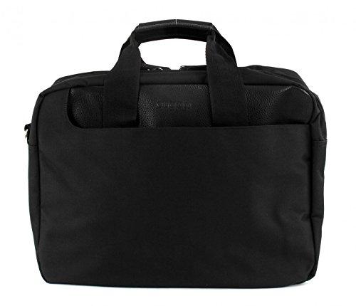Bugatti Cosmos Aktentasche mit Laptopfach 17 Zoll 01 black