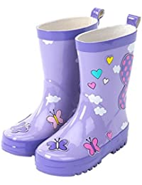 Amazon.com: Purple - Rain Boots / Outdoor: Clothing, Shoes & Jewelry