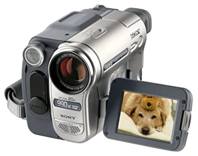 Sony DCR-TRV260 20x Optical Zoom 990x Digital Zoom Digital8 Camcorder