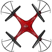 Owill LiDiRC L15W 4CH 2.0M HD Camera WiFi FPV 2.4G 6-Axis Gyro RC Quadcopter Altitude Hold Helicopter (Red)