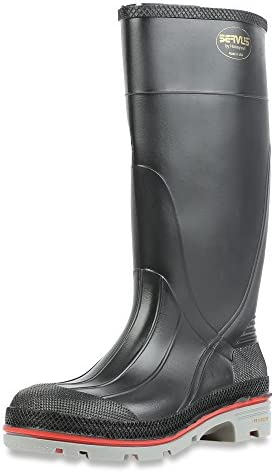 Servus Chemical Resistant Boots Black 75108