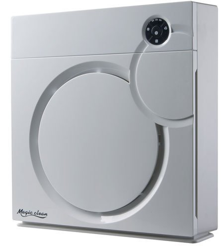 Sunpentown Home Living Room Appliance HEPA Air Purifier With Ion Flow Technology in White by Sunpenetown