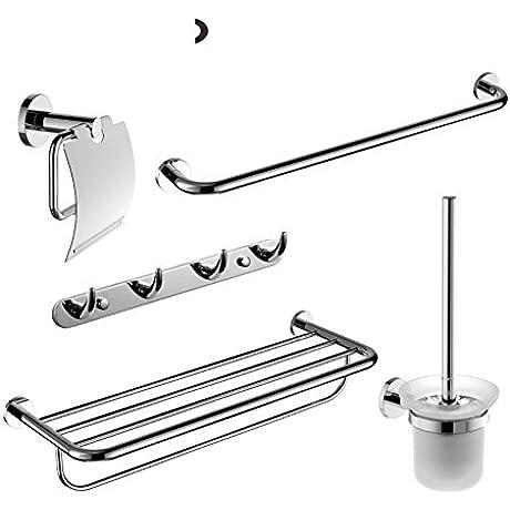 Towel Bar Towel Rack Towel Shelf Stainless Steel Bathroom Accessories Set