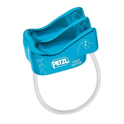 Petzl VERSO lightweight belay rappel device Blue