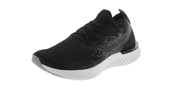 Nike Epic React Flyknit (GS), Zapatillas para Hombre, Multicolor (Black/Black/Dark Grey/Pure Platinum 001), 40 EU: Amazon.es: Zapatos y complementos