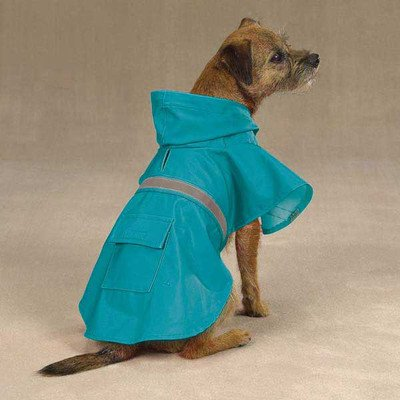 Guardian Gear Brite Rain Jacket for Pets, XX-Small, Bluebird