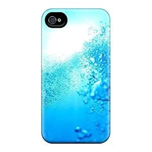 Perfect Sun Through The Water Case Cover Skin For Iphone 4/4s Phone Case