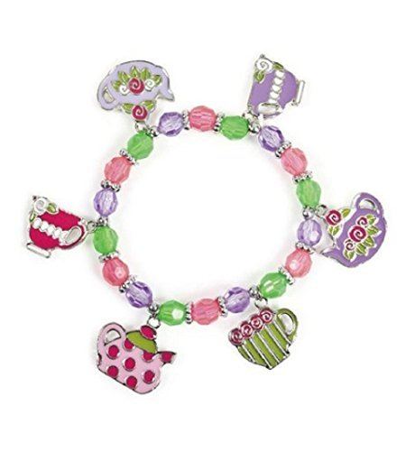 Tea Party Charm Bracelets (8 Pc) by OTC