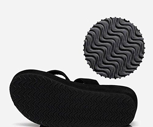 FAFZ Plage Pantoufles Plates 42 de Chaussures nbsp; Taille de B Mode Sandales Chaussons Pantoufles C Sandales glissantes caleçons pour Tongs caleçons Femmes Couleur rqxXr