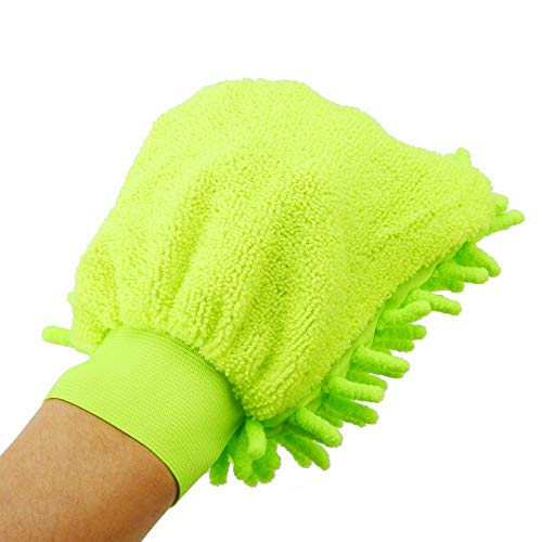 Jeep Window Cleaner With New Design 2019, Durable Car Body Window Cleaning Towel Super Mitt Microfiber Glove Auto Home - Cleaning Brush For Face, Double Glass Window, Windows Cleaning Supplies ()