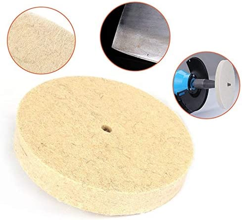Drill Grinding Wheel Buffing Wheel Felt Wool Polishing Pad Abrasive Disc