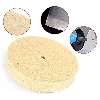 Drill Grinding Wheel Buffing Felt Wool Polishing Pad Abrasive Disc Grinder Tool
