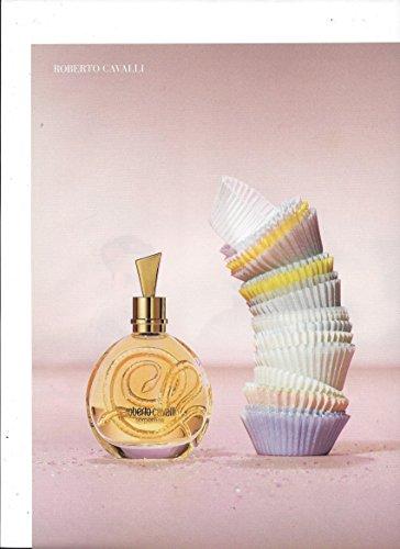 PRINT AD For Roberto Cavalli Fragrance Paper Cupcake Wrapper Scene