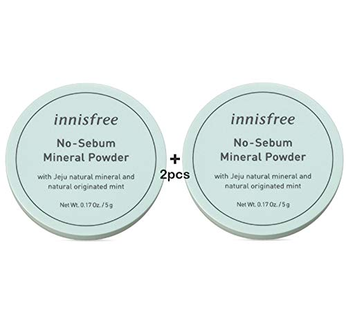 INNISFREE NO SEBUM MINERAL POWDER 5g TWO(2) PIECES