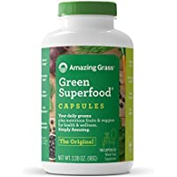 150-Count Amazing Grass Organic Wheat Grass Superfood Capsules