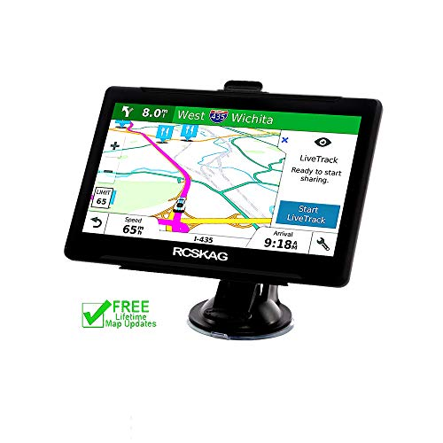 GPS Navigation System,7Inch 8GB HD Touch Screen Car GPS Navigation Vehicle GPS Navigator with Lifetime Maps