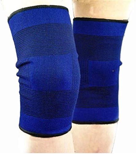 膝パッド スポーツアウトドア用コンプレッションニーパッドスポーツ用包帯通気性ニーパッド、2箱(4パック)。 (サイズ : L)