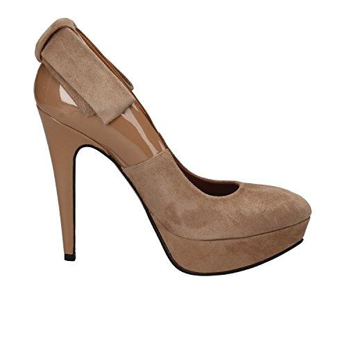 de Charol MARRA EU Mujer Zapatos salón Marrón Gamuza 36 GIANNI EwFRqAYR