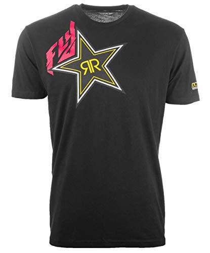 Fly Racing Rockstar T-Shirt-Black-XL