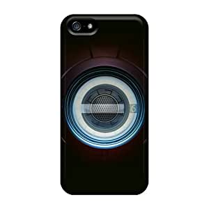For Iphone Case, High Quality Iron Man Chest Pacemaker Plate For Iphone 5/5s Cover Cases