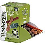 Whimzees Dog Treat, Variety Box, Small, 48 per pack