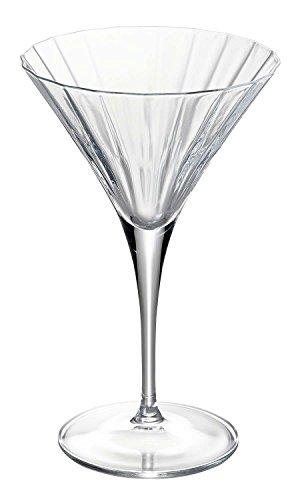 (Luigi Bormioli 10951/01 Bach 8.25 oz Martini Glasses, Set of 4, Clear)