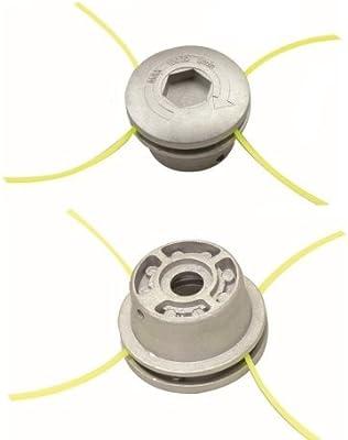 Cabezal universal para desbrozadora aluminio con cierre ...