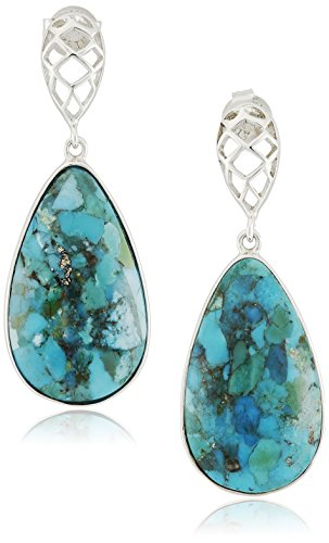 sterling-silver-synthetic-compressed-turquoise-cage-detail-teardrop-earrings