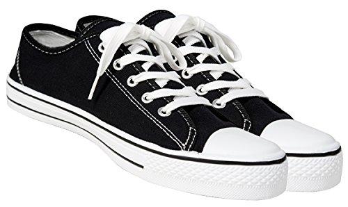 Damen Herren Sportliche Unisex REIS Schwarz 36 46 Grensho Schuhe Turnschuhe Sneaker Freizeitschuhe Sportschuhe Größen AR6Iaq