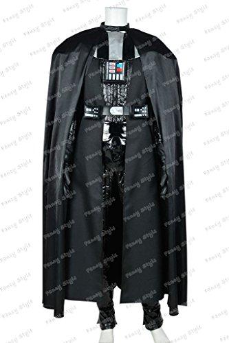 Star Wars Darth Vader Cosplay Costume Outfits Black Custom (Movie Quality Darth Vader Costume)