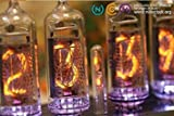 Classic Nixie Tube Clock Kit - In-14 Tubes, See