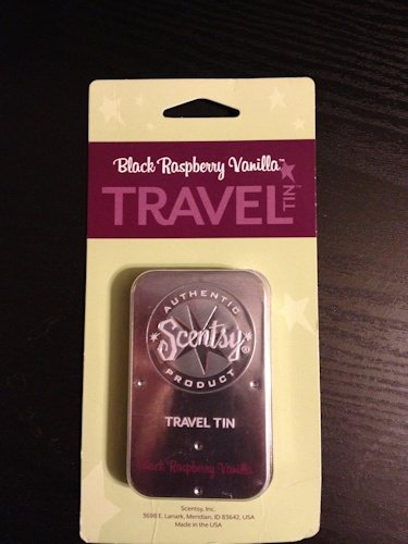 - Black Raspberry Vanilla Scentsy Travel Tin