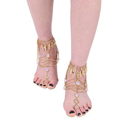 Zhenhui Vintage Blessing Anklets Jewelry