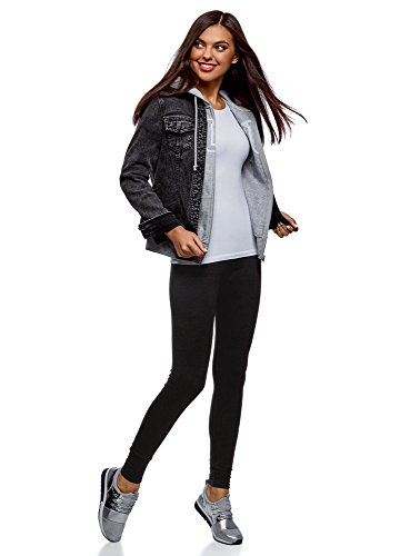 oodji Ultra Femme Legging Basique en Maille