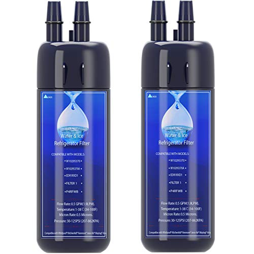 W10295370A Water Filter Cap Replacement, Compatible with EDR1RXD1 Water Filter 1,P4RFWB,P8RFWB2L,Kenmore 9081,Kenmore 9930 Water Filter 2-Packs