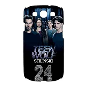 Teen Wolf Charming Live Samsung Galaxy S3 I9300/I9308/I939 Perfect Color Match Cover Case for Fans by mcsharks