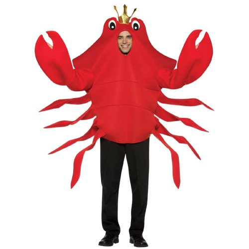 [Rasta Imposta King Crab, Red, One Size] (Crab Costumes)