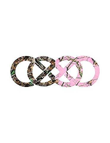 Infinity Double Rings Camo (Realtree Camo Rebel Flag)
