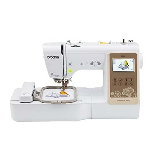 Brother SE625 Combination Computerized Sewing and 4×4 Embroidery Machine with Color LCD Display, 280 Total Embroidery Designs