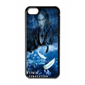 LJF phone case iphone 4/4s Phone Case Within Temptation F5K7642