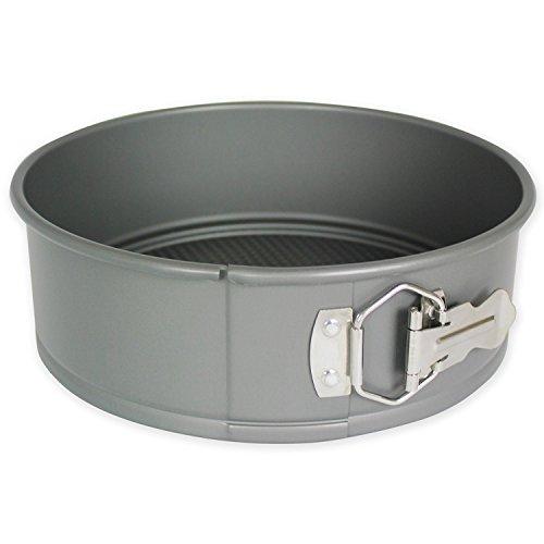 3' Round Cake Pan (PME 9'' x 3'' Round Hard Anodised Springform Aluminium Cake Tin Pan Tray)