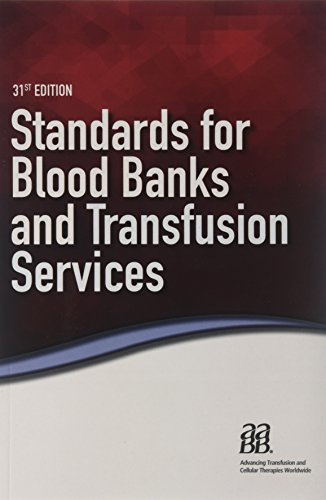 Standards for Blood Banks and Transfusion - Standard Bank
