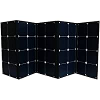 Aims 120 Watt Portable Foldable Portable Solar Panel with Built in Carrying Case