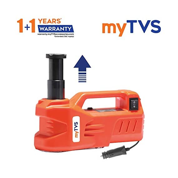 myTVS TJ-65 3 Ton Car Electronic Jack for All Cars 2