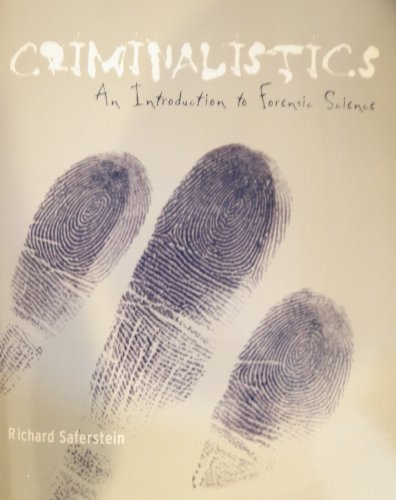 Criminalistics; an Introduction to Forensic Science; with Cd