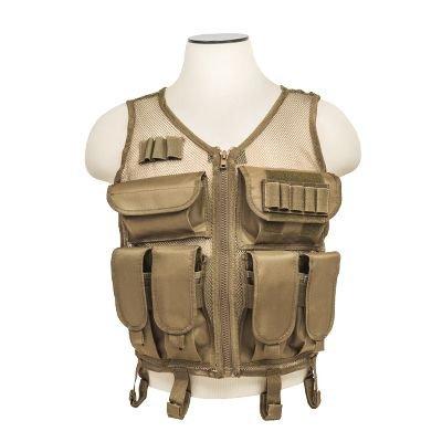 Mesh Tactical Vest - Tan