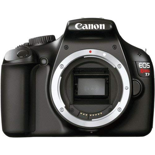 Canon EOS Rebel T3 12.2 MP CMOS Digital SLR Camera and DIGIC 4 Imaging (Body)