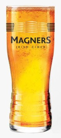 Magners Irish Cider Pint Glass Nucleated (1 Glass) Arc International